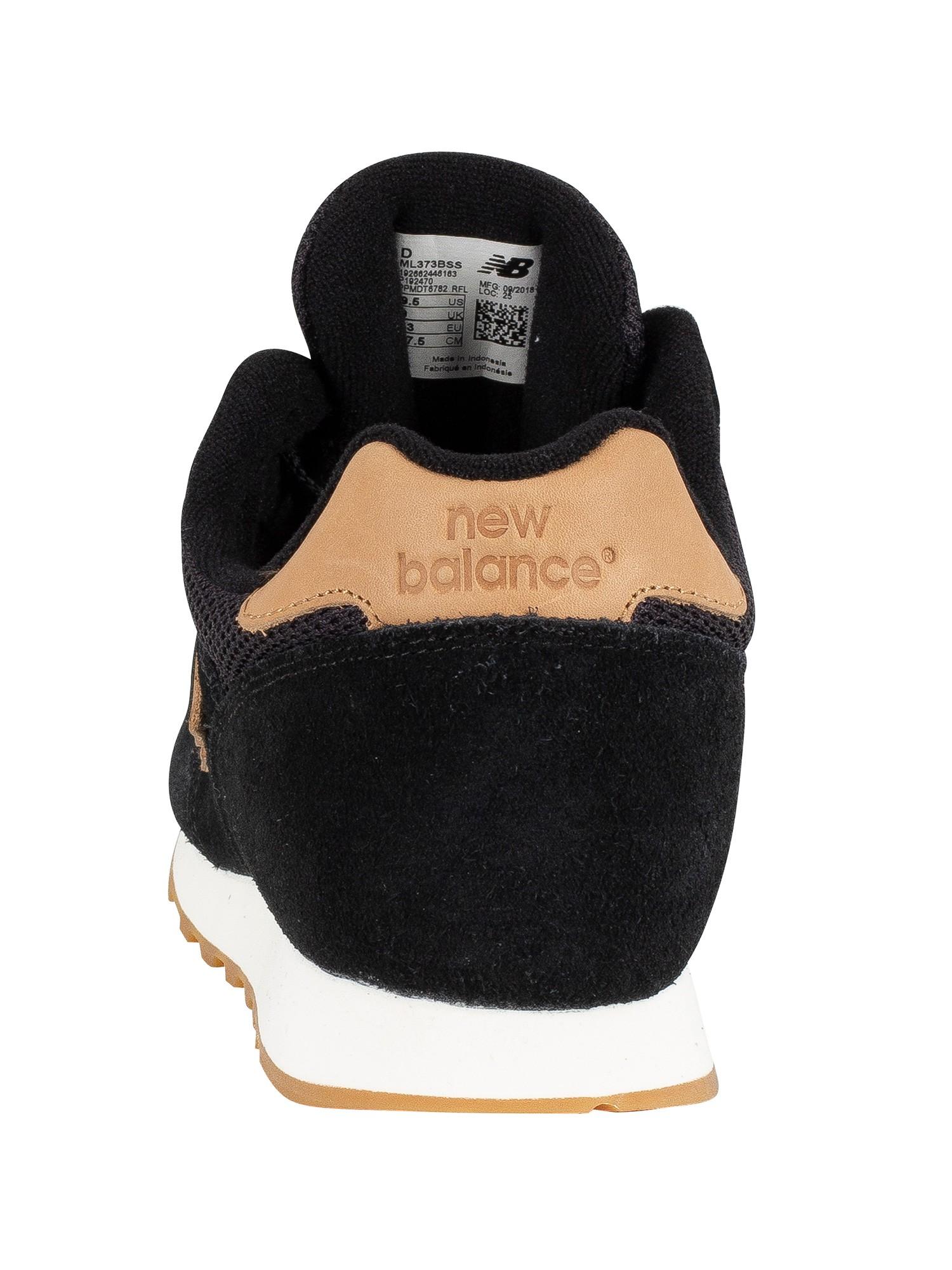 Daim Baskets Balance Noir En 373 Homme New tq6wXa7X