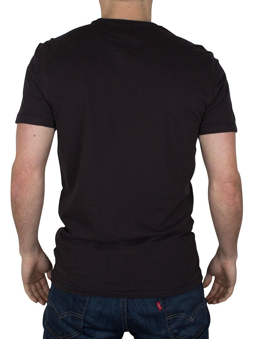 Levi 39 s men 39 s 2 pack crew t shirts black ebay for Mens black levi shirt