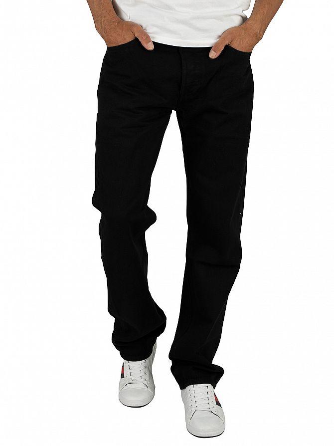 Levi's Black 501 Original Fit Jeans