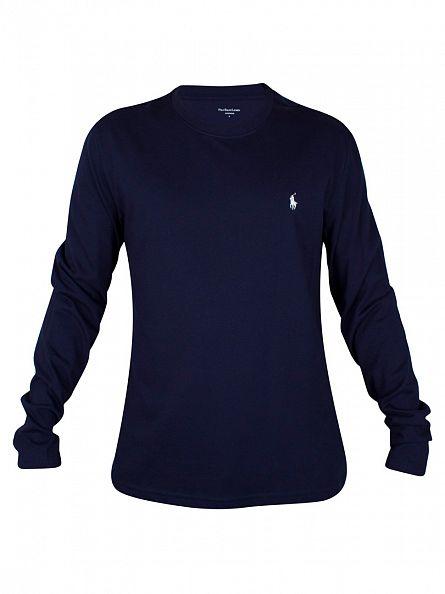 Polo Ralph Lauren Cruise Navy Longsleeved T-Shirt