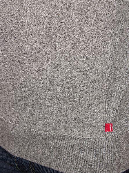 Levi's Grey Heather Original Crew Neck Sweatshirt