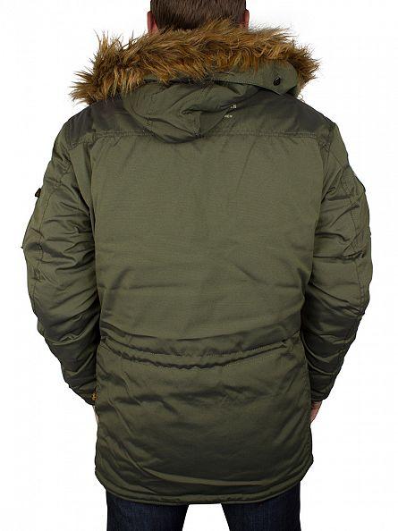 Alpha Industries Dark Green Polar Jacket