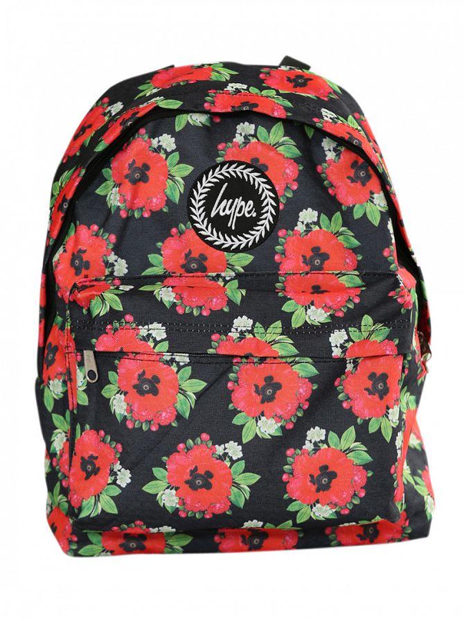Hype Black/Red Poppy Backpack