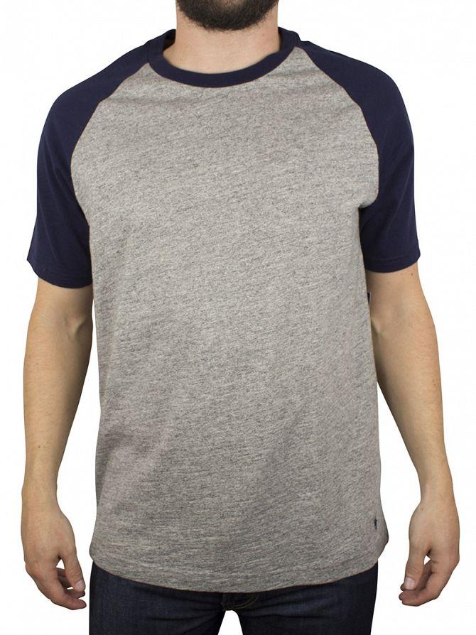 Polo Ralph Lauren Grey Marl/Blue Two Tone Pyjama T-Shirt