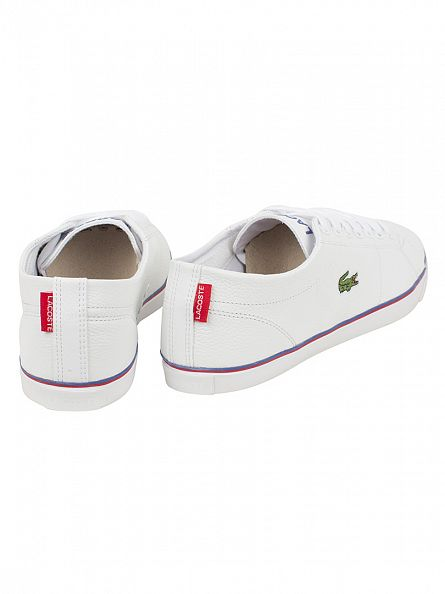 Lacoste White/White Marcel TCL SPM Trainers