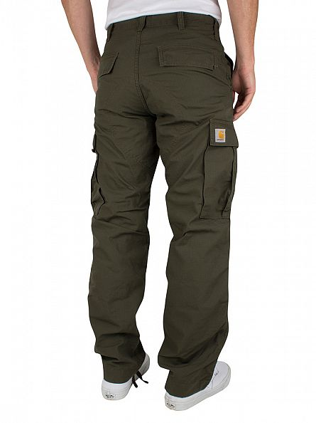 Carhartt WIP Cypress Rinsed Regular Cargo Pants