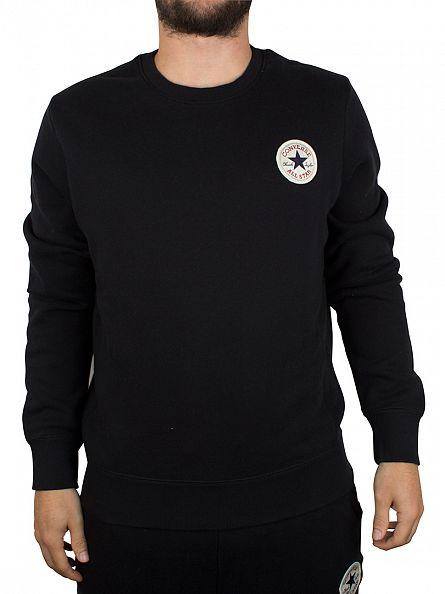 Converse Black Core Logo Sweatshirt