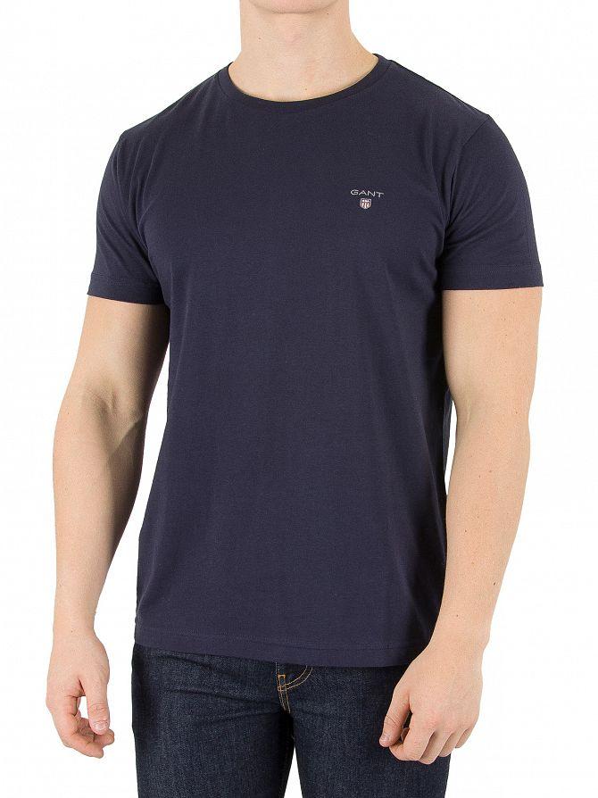 Gant Marine Solid Logo T-Shirt