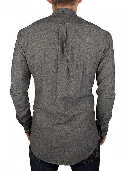Farah Vintage Gravel Longsleeved Steen Shirt