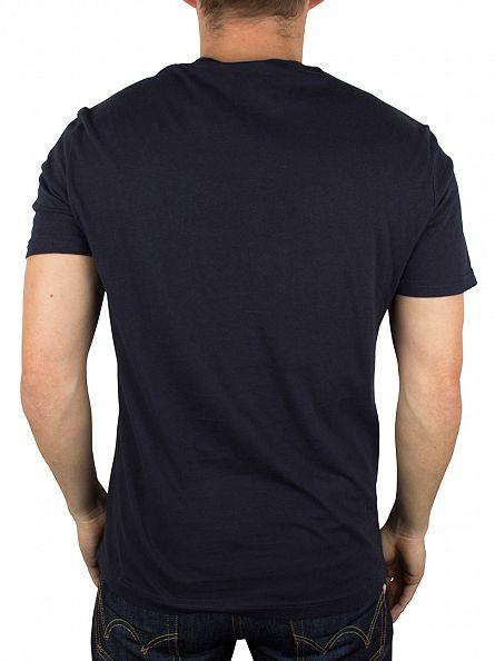 Original Penguin Dark Sapphire Ice Pete Graphic T-Shirt