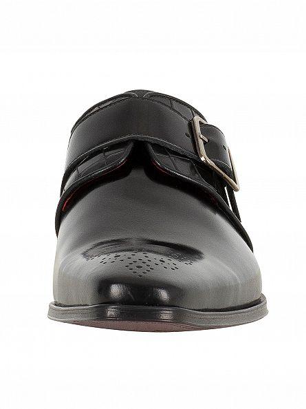 Jeffery West College Black/Antick C Black Scarface Shoes