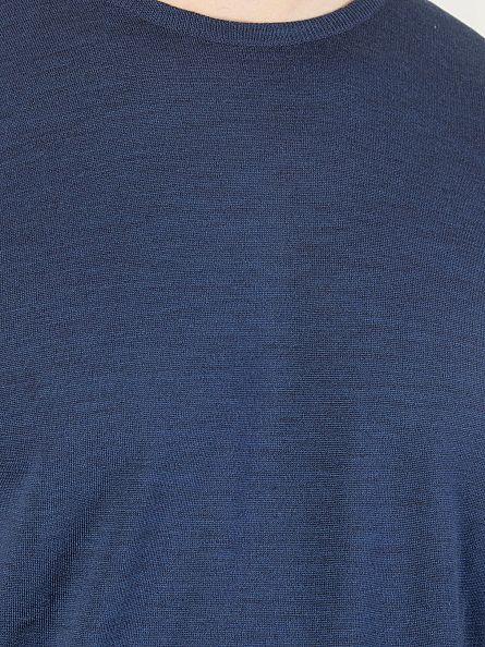 John Smedley Indigo Marcus Longsleeved Knit