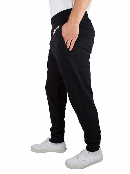 Carhartt WIP Black/White College Sweat Logo Joggers