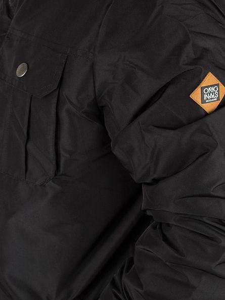 Jack & Jones Black Canyon Short Parka Jacket