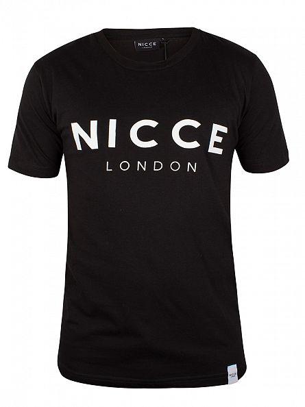 Nicce London Black Original Logo T-Shirt