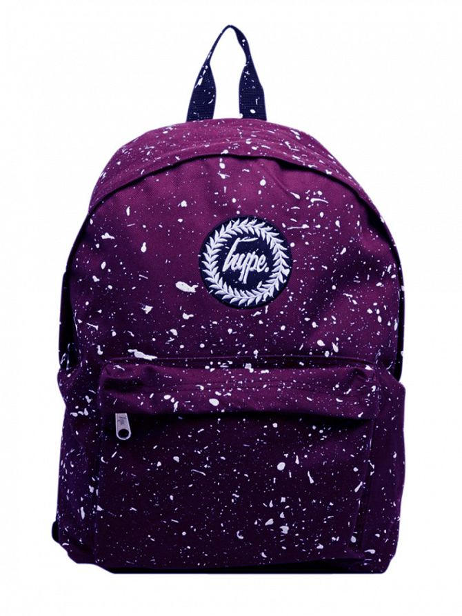 Hype Purple/White Speckle Backpack