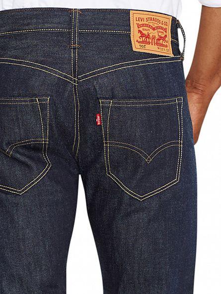 Levi's Long Day Blue 501 Original Fit Jeans