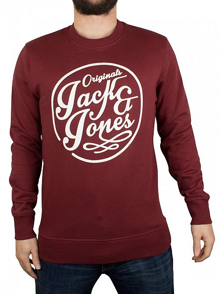 Jack & Jones Port Manc Graphic Sweatshirt