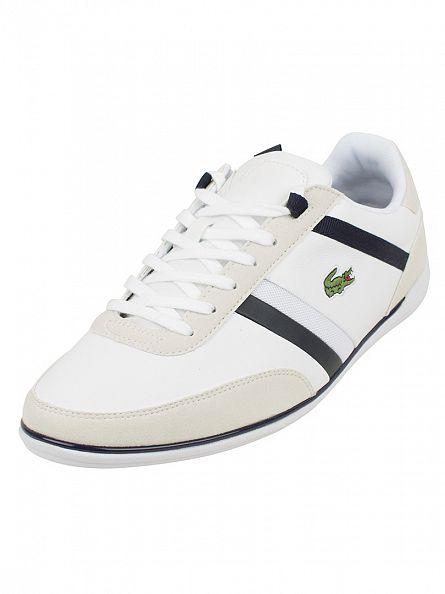 Lacoste White Giron 116 1 SPM Trainers