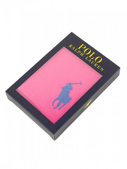 Polo Ralph Lauren Active Pink Classic Stretch Cotton Logo Trunks