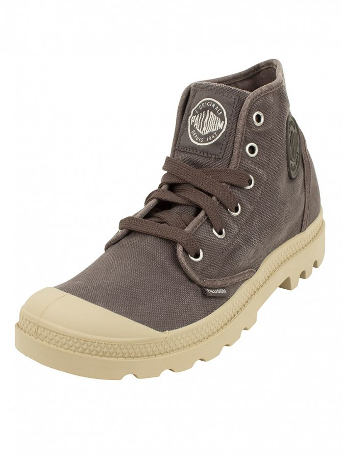 Palladium Asphalt/Putty Pampa HI Boots