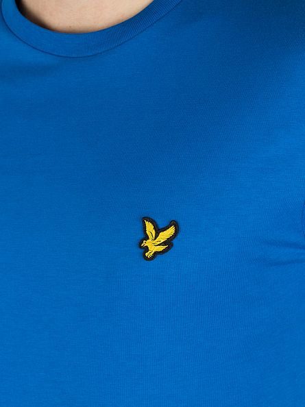 Lyle & Scott Deep Cobalt Logo T-Shirt