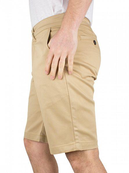 Lyle & Scott Dark Sand Chino Shorts