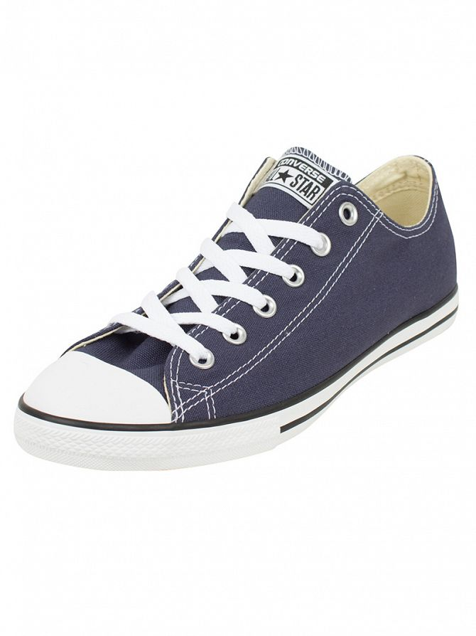 Converse Navy/Natural CT Lean OX Trainers