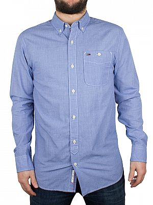 hilfiger denim check shirt