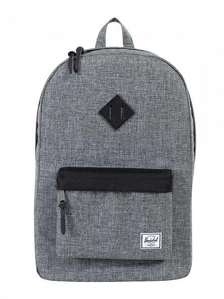 Herschel Supply Co Raven Heritage Crosshatch Backpack