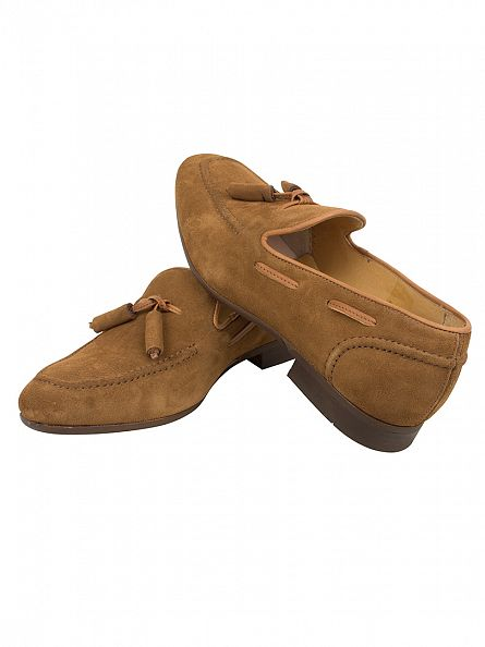 H by Hudson Tan Pierre Suede Shoes