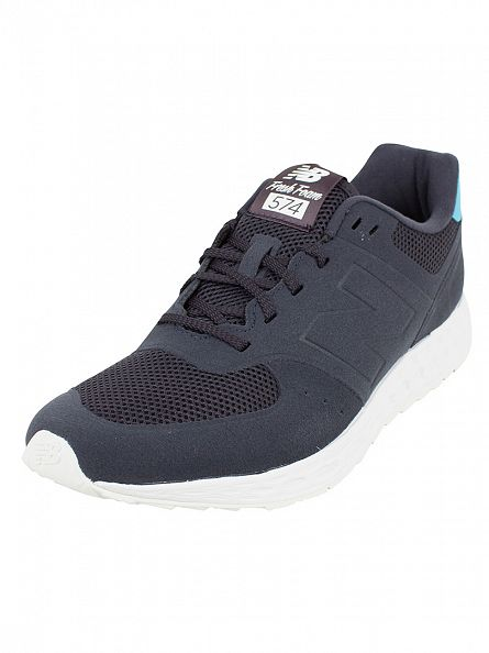 New Balance Navy/Blue 574 Trainers