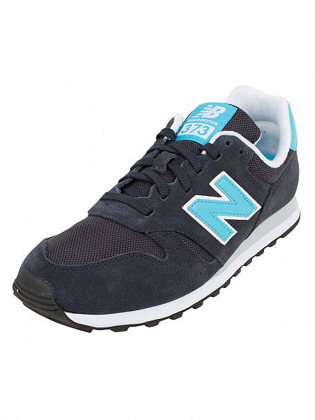 New Balance Navy/Blue 373 Trainers