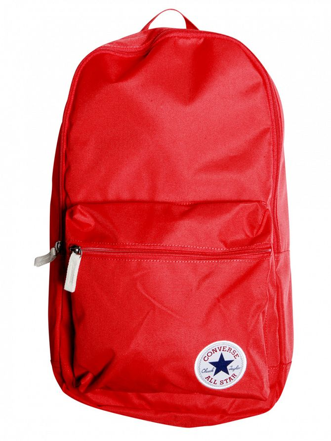 Converse Red Logo Backpack