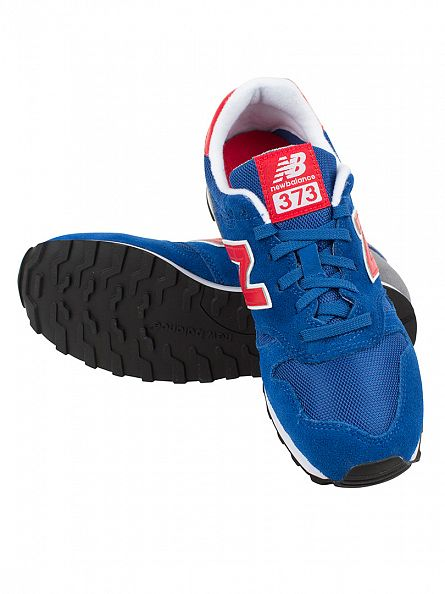 New Balance Blue/Red 373 Trainers