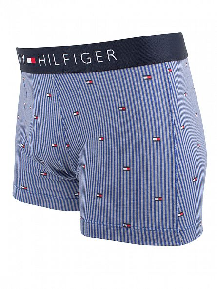 Tommy Hilfiger Limoges Icon Ithaca Stripes All Over Logo Trunks