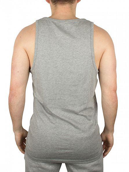 Converse Light Grey Left Logo Marled Vest