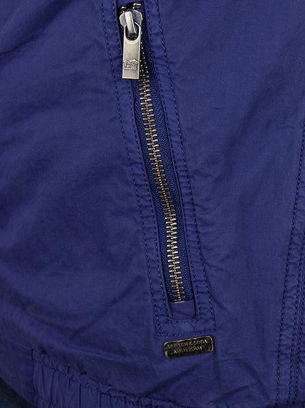Scotch & Soda Cobalt Dyed Bomber Jacket
