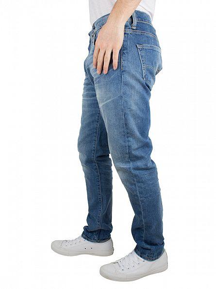 levi 39 s light wash 520 extreme taper fit jeans 05520 0133 22374. Black Bedroom Furniture Sets. Home Design Ideas