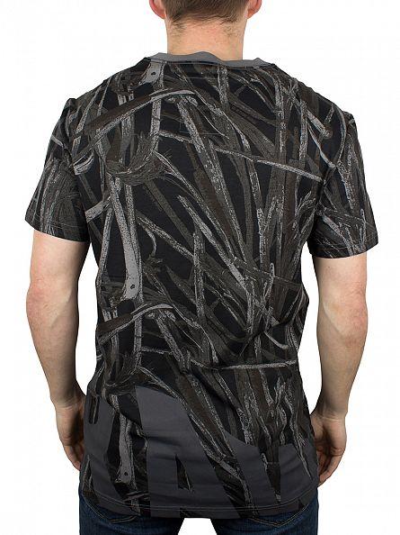G-Star Platinum AO Studam All Over Branch Print T-Shirt