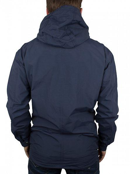 Minimum Dark Iris Sender Trail Hooded Zip Jacket