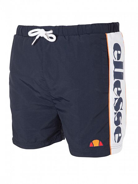 Ellesse Dress Blues Bevagna Vertical Logo Swim Shorts