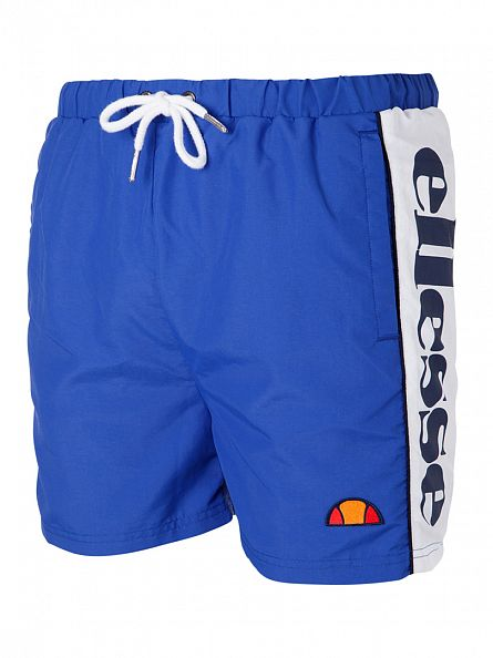 Ellesse Princess Blue Bevagna Vertical Logo Swim Shorts