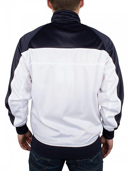 Sik Silk White/Navy Track Zip Jacket