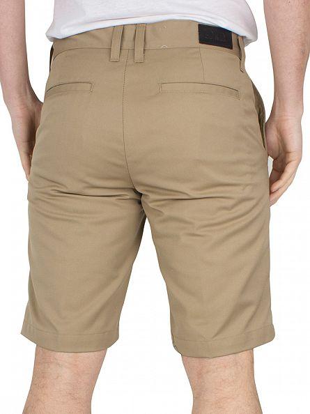 Edwin Light Khaki Union Chino Shorts