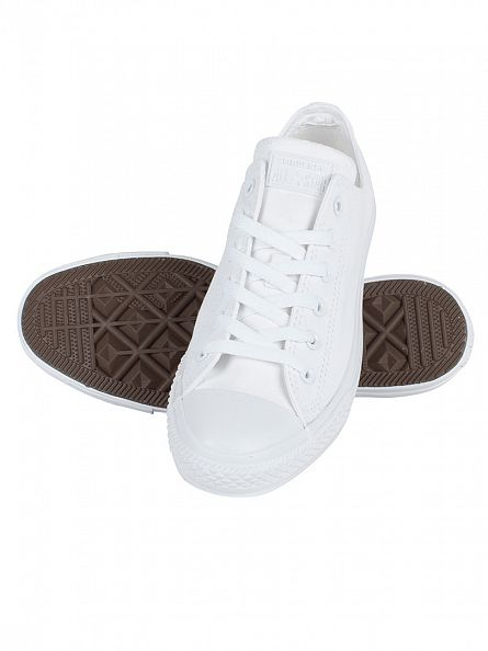 Converse White Monochrome CT AS Trainers