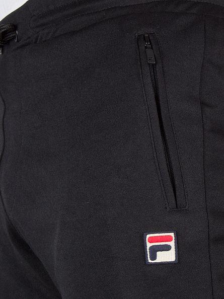 Fila Vintage Black/Gardenia Lazeret Logo Joggers