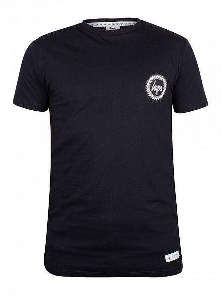 Hype Navy Crest Logo T-Shirt