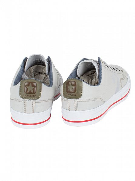 Converse Mouse/Khaki/Indigo Star Player OX Trainers