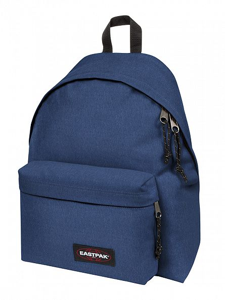 Eastpak Crafty Blue Padded PakR Logo Backpack